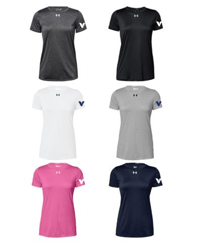 4bb436004 34) Vitamin Shoppe - Under Armour Locker Tee (New Item) (Women's) Price:  $24.00